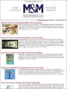 Real Estate Digest Sample